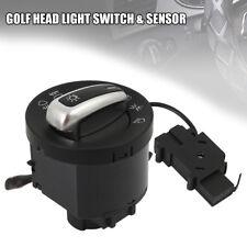 Headlight Light Sensor Switch VW Golf 5 6 MK6 MK5 Tiguan Touran Auto Chrome M