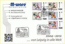 Echte gestempelte Briefmarken aus Deutschland (ab 1945) als Lokalausgaben