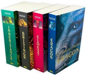 The Inheritance Cycle Series 4 Book Set Collection Eragon, Eldest, Brisngr NEW