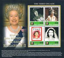 Gambia 2006 Queen's 80th B-Day SG4925/4928 MNH