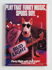 """Spuds Mackenzie """"Play That Funky Music"""" FRIDGE MAGNET (2 x 3 inches) beer poster"""