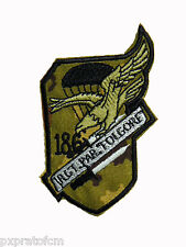 Patch Folgore 186 Rgt Paracadutisti Esercito Italiano Mimetica Vegetata Militare