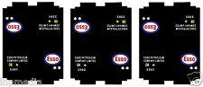 HORNBY DUBLO 3X ESSO TANKER WAGON REFURB TRANSFER LHP HD011