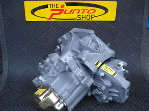 FIAT  500  1.2  1.4  PETROL  5 SPEED RECONDITIONED GEARBOX C20 CASING NO.