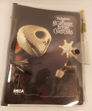 UNUSED NIGHTMARE BEFORE CHRISTMAS PERSONAL PLANNER, ADDRESS BOOK & PEN NECA 2003