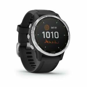 GARMIN fenix 6S Solar Smart Watch Water Resistant - Black & Silver
