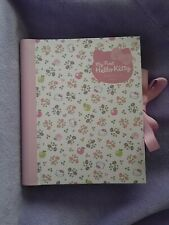 My First Hello Kitty Baby Girl Record Book New