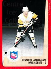 1988-89 ProCards IHL #50 Dave Goertz