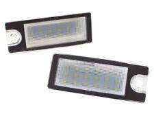 VOLVO S60 01- S80 99- V70 XC70 XC90 PLAFONES LUCES DE PLACA DE MATRÍCULA LED 2x