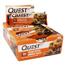 Quest Nutrition Double Layer Protein Bar PEANUT BUTTER BROWNIE SMASH - 12/box