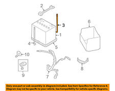 SUBARU OEM Outback-Battery Hold Down Tie Bracket Strap Bolt Right 82161AJ11A