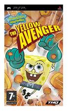 SpongeBob SquarePants: The Yellow Avenger (Sony PSP, 2006) - European Version