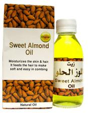 Aceite De Almendra Dulce Puro Natural Aceite para el cabello y cuidado de la piel - 125 Ml