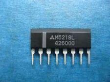 MTTSUBIS M5218L ZIP-8 OP-AMP DUAL Bipolar SIP 8Pin Plastic