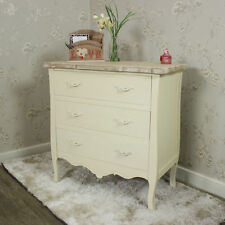 Solid Wood Country Height 3 Chests of Drawers