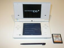 Nintendo DSi White Handheld System with Game