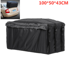 218L Waterproof Car Roof Top Tail Carrier Bag Rack Cargo Luggage Travel Storage