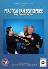 Practical Cane Self-Defense Street Techniques & Kata Dvd Stalloch Crandall