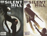 Silent Hill: Past Life #3-4 (2010-2011) IDW Comics - 2 Comics
