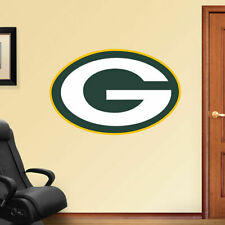 "GREEN BAY PACKERS Logo Fathead/Poster 20"" x 13"" WALL DECAL"