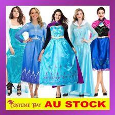 Adult Women's Disney Frozen 2 Princess Elsa Anna Snow Queen Fancy Dress Costume