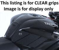 Triumph Street Triple RX 2017 R&G Racing Tank Traction Grip Pad EZRG801CL Clear