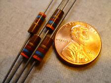 4 count of 1/2 watt, 5% resistors, Allen Bradley Carbon Composition