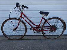 """Vintage 1970s Old Schwinn Collegiate 5-Speed 17"""" Women Bicycle Road Cruiser Bike"""