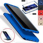 ShockProof Hybrid 360 TPU Thin Case Cover For Samsung Galaxy S7 edge S8 S9 Plus
