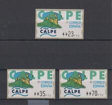 ATMs, España 1999. Calpe. 4  DIG.  MNH. Perfectas. Serie completa. Escasa.