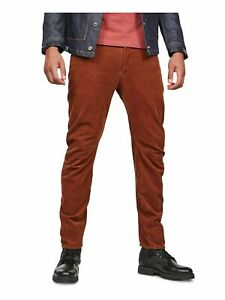 G-Star Raw Mens Brown Slim Fit Cotton Jeans W29/ L32