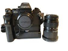 Canon F-1  F1 Slr 35mm Camera  2 Lenses AE Finder