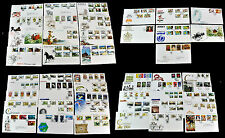 Greate Britain. JERSEY. Lot of 49 First Day Covers. (BI#BX39)