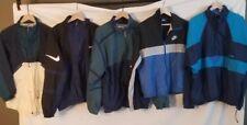 Lot 5 Vintage 90s Nike Jacket grey tag blue air jordan flight 80s 70s pinwheel