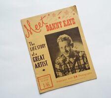 Danny Kaye Booklet Life Story 1948 Souvenir Album Film and Cinema Photographs