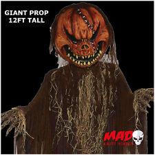 Gigante 12 ft (approx. 3.66 m) Colgante Mal Calabaza Grande De Halloween Decoración tenebrosa y escalofriante/!