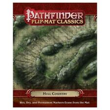 Pathfinder Tiles and Maps Flip-Mat Classics: Hill Country