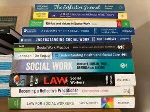 11 student social work books