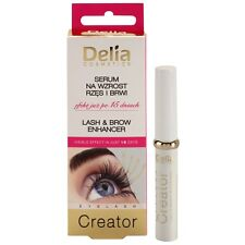 DELIA EYELASH & BROW SERUM LASH EYEBROW ENHANCER KERATIN Conditioner 7ml