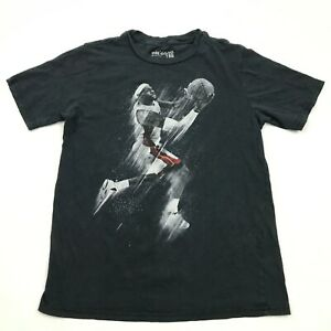 NIKE Lebron James Shirt Youth Size Large L Black Kingjames Tee Athleisure Modern
