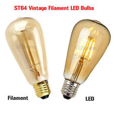 LED / Filament Glühbirne ST64 Vintage Eichhörnchen Käfig Dekorativ Industrielle