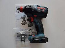 "BOSCH IDH182 18V 18 Volt Brushless 1/2"" Socket ready Impact Driver w/ Belt Hook"