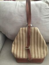 Liz Claiborne Shoulder Bag and Purse Brown and tan tweed look, NWT