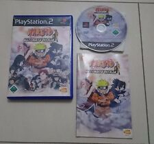 Naruto Ultimate Ninja Playstation 2 (PS2) Spiel