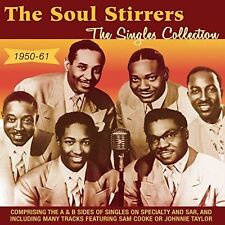 THE SOUL STIRRERS - THE SINGLES COLLECTION, 1950-61 * NEW CD
