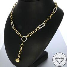 SONDERAKTION WERT 1.260,- Moderne 585 / 14 Karat Gold Collier Kette XXYY