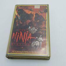 THE NINJA MISSION Betamax Video Cassette Ex Rental Tape PAL UK (1984)
