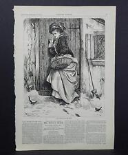 HARPER'S WEEKLY Single Page S3#079 Jan 1876 Good Things for the Poor