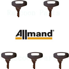 5 Allmand Backhoe Loader Amp Light Tower Generator Compressor Ignition Keys 920474