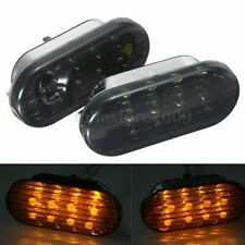 LED Amber Smoke Side Marker Light For VW 98-04 Golf Jetta Passat GTI R32 Beetle
